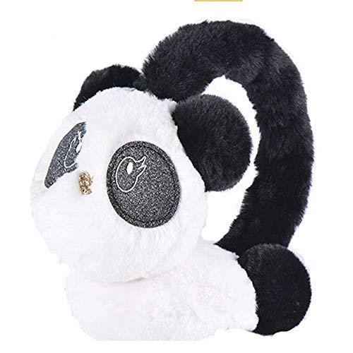 ZSDGY Warme Ohrenschützer/Weibliche Winter Niedliche Ohr Tasche/Plüsch Ohr Warme Kinder Cartoon Panda Ohrenschützer Ohr Tasche -