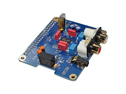 HiFi DAC für Raspberry Pi B+/2B,Shield,PiFi DAC+ V2.0,Board, Audio, Vullers Tech® (Papier Streamer Ideen)