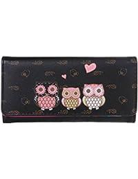 Rrimin Women Wallets Handbags PU Leather Coin Purse Ladies Clutch Cards Holder Bag