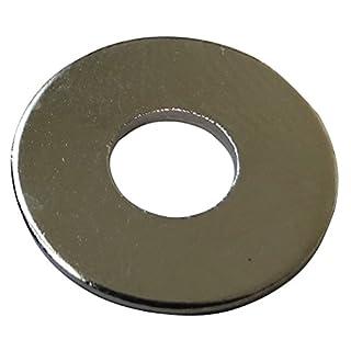Aerzetix: 50x Unterlegscheibe M6 Ф16mm H1mm Messing C17693