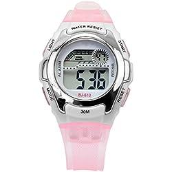 Outdoor Sports Digital Waterproof Wrist Watch Alarm Chronography