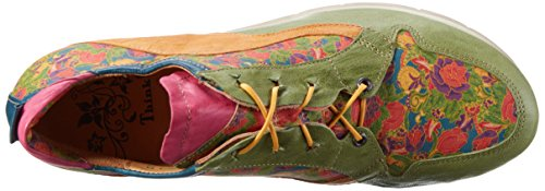 Think! Renna, Derby Femme Vert (Multicolour 99)