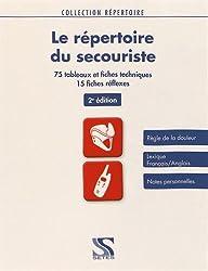 Le répertoire du secouriste - 2e édition