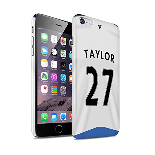 Offiziell Newcastle United FC Hülle / Glanz Snap-On Case für Apple iPhone 6S+/Plus / Pack 29pcs Muster / NUFC Trikot Home 15/16 Kollektion Taylor