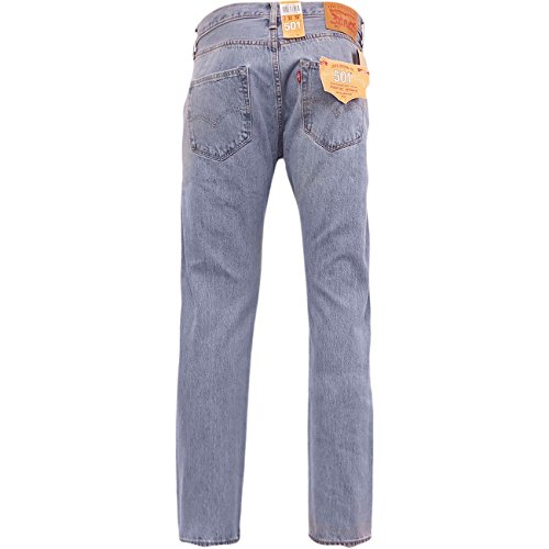 mens-levis-501-denim-jean-light-broken-in-lightwash-blue-original-levi-strauss-w31-x-l32