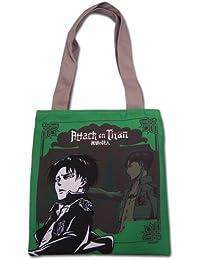 Preisvergleich für Tote Bag–Attack on Titan–NEUE Levi grün Anime Lizenzprodukt ge82276