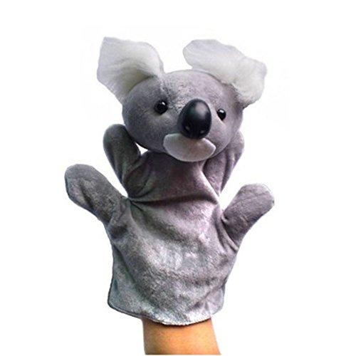 Preciosa de la koala de peluche de juguete para niños marionetas de mano