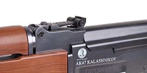Softair-Gewehr AK 47 wood schwarz braun Federdruck Abbildung 2