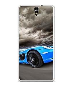 Snapdilla Designer Back Case Cover for Sony Xperia C5 Ultra Dual :: Sony Xperia C5 E5533 E5563 (Vechile Drive Luxury Fuel Race Power Wallpaper)