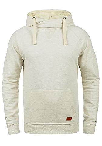BLEND 703585ME Sales Herren Kapuzenpullover Hoodie Sweatshirt aus hochwertiger Baumwollmischung, Größe:XS, Farbe:Sand Mix (70810)