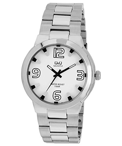 Q&Q Regular Analog White Dial Men's Watch - Q862J204Y image