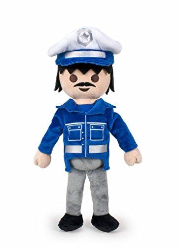 Famosa Softies - Playmobil Peluche 40 cm Policía, . (760014482)