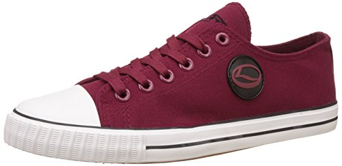 63952d0242 Lancer Men s Wine and Black Sneakers - 8 UK India (42 EU)(