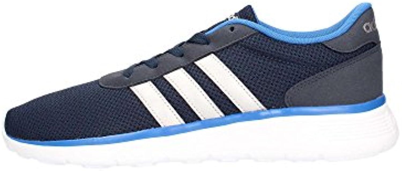 adidas Herren Lite Racer Turnschuhe, Blau (Maruni/Plamat/Azul), 44 EU -