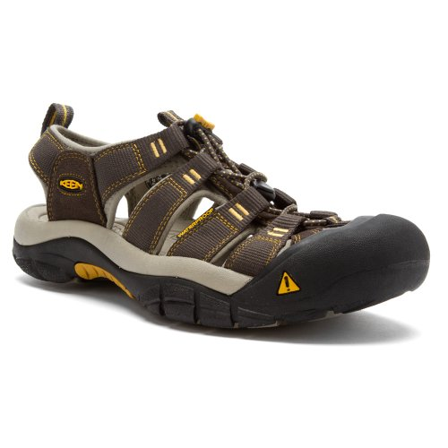 Keen KeenNewport H2 - Scarpe da Trekking e da Passeggiata Uomo grigio giallo