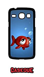 Caseque Looney Fish Back Shell Case Cover for Samsung Galaxy Core