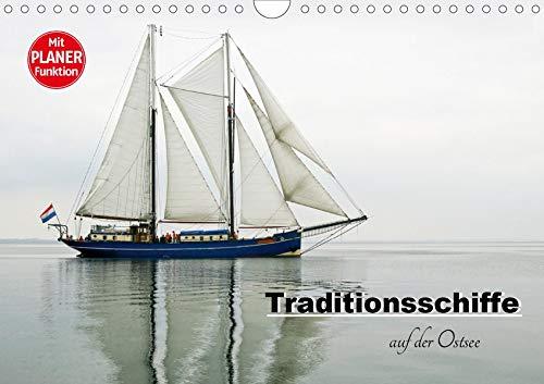 Traditionsschiffe auf der Ostsee (Wandkalender 2020 DIN A4 quer): 12 Traditionsschiffe unterwegs auf der Ostsee, die Sie mit dem maritimen Flair einer ... 14 Seiten ) (CALVENDO Sport)