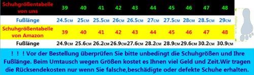 Dayiss® Herren Leder Sandalen Sport- & Outdoor Schuhe Sandaletten Schwarz