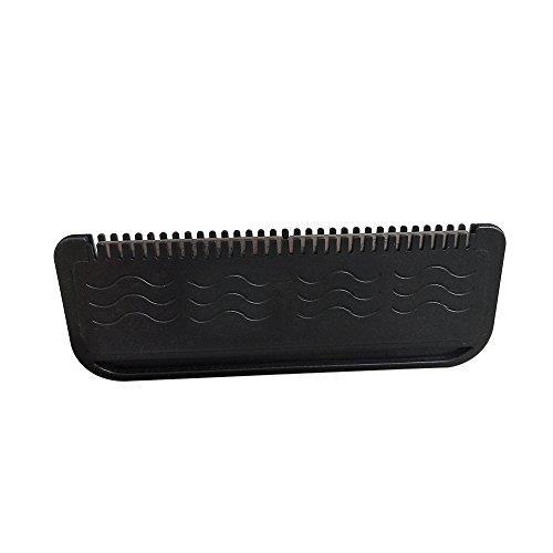 Anself Tête de rasoir remplaçable de rasoir de cheveux d'acier inoxydable de lame de corps de cheveux d'acier inoxydable