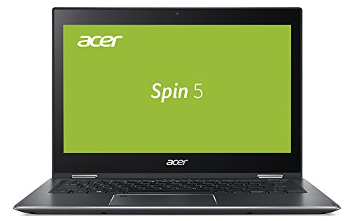 Acer Spin 5 SP513-52N-55AZ 33,78 cm (13,3 Zoll Full-HD IPS Multi-Touch) Convertible Notebook (Intel Core i5-8250U, 8GB RAM, 512GB SSD, Intel HD, Win 10) grau