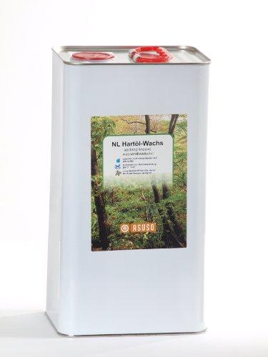 Preisvergleich Produktbild Asuso Nature Line NL Hartöl-Wachs 5 Liter seidenmatt