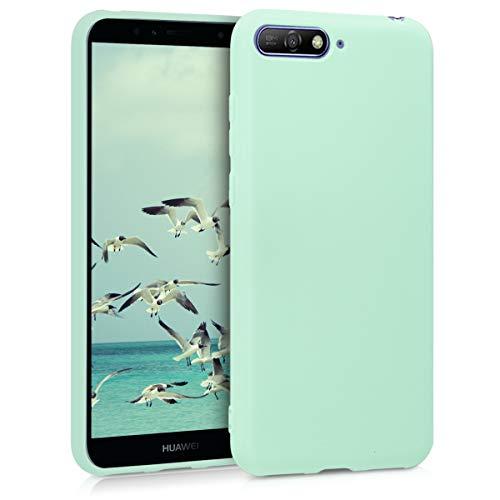 kwmobile Huawei Y6 (2018) Hülle - Handyhülle für Huawei Y6 (2018) - Handy Case in Mintgrün matt - Schutzhüllen für Handys