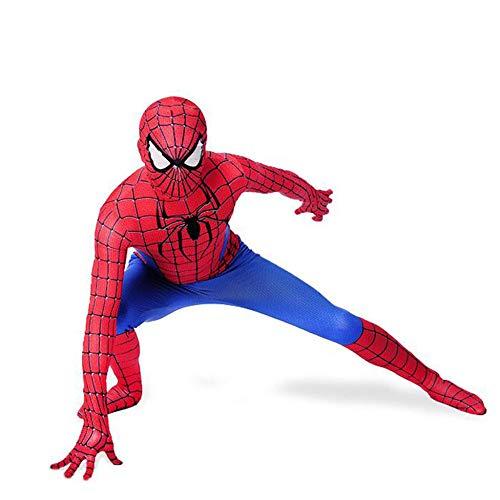 ZHANGQI Erstaunliche Spider-Man Strumpfhosen Kinder/Erwachsene Jungen Halloween Einteiliges Kleid Set Cosplay - Red Spider Girl Kostüm