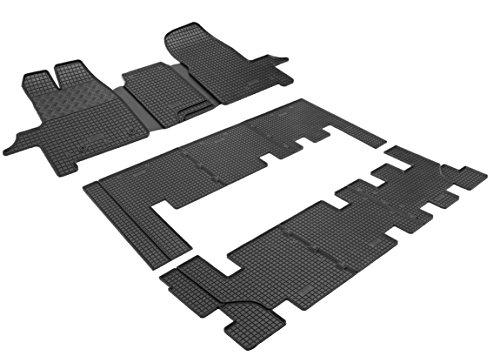 Preisvergleich Produktbild Passende Gummimatten (8-Plätzer - 1+1+3+3) RIGUM-0055-0