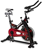 BH spinred indoorbike–22kg volante de inercia–Cadena de transferencia–Negro Rojo–h9132
