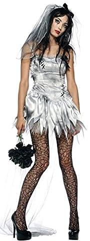 Halloween Morte Bride Costume - aimerfeel dames fantôme zombie cadavre vampire hanté