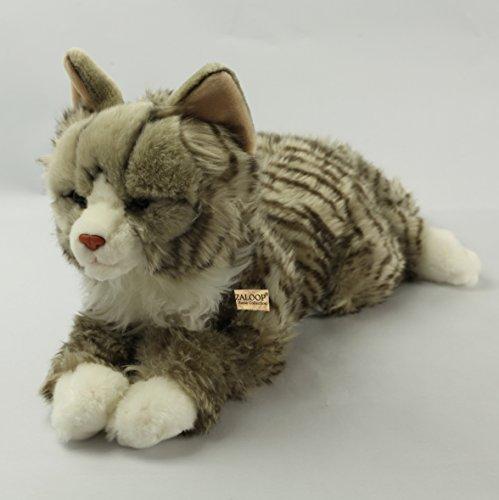 Katze Waldkatze ca. 48 cm Plüschtier Kuscheltier Stofftier Plüschkatze 1 von Zaloop®