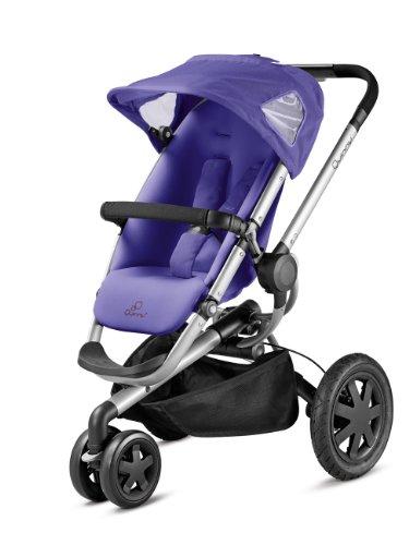 Quinny Buzz 3 Kinderwagen Buggy Kombiset, inklusive Einkaufskorb, Sonnenverdeck, Regenverdeck, Sonnenschirmclip und Adapter für Quinny Dreami und Maxi-Cosi Babyschale, purple pace