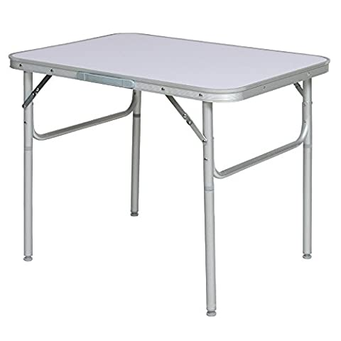 TecTake FOLDING PORTABLE CAMPING TABLE - different models - (75x55x60cm
