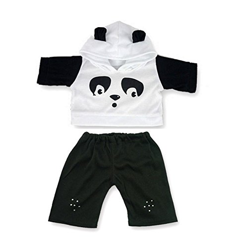 ddy Bear Clothes fit Build a Bear factory Teddies (Panda Bear Outfit)