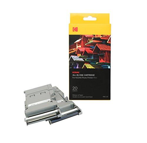 Kodak Kpmc 20cartouche tout-en-un pour imprimante photo Mini 20photos Blanc