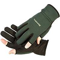 Snowbee Light weight Neoprene Fishing or Shooting Gloves