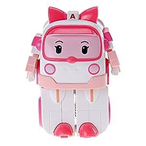 Robocar Poli - 83172 - Robocar Transformables - Ambre