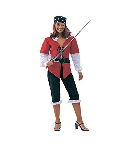 Damenkostüm Piratin (Der Angelica Karibik Fluch)