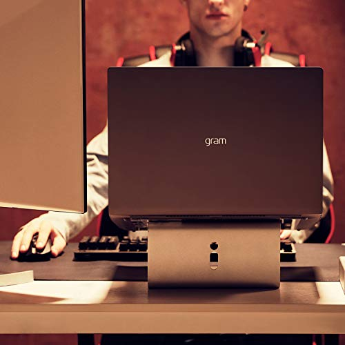 "LG Gram Laptop - 15.6"" Full HD Touchscreen, Intel 8th Gen Core i7, 16GB RAM, 256GB, 18.5 HRs Battery, USB Kind-C, - 15Z990-A.AAS7U1 (2019), Dark Silver Image 7"