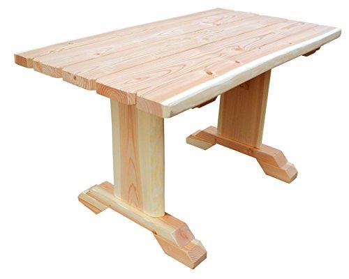 b+t ISTE150N Erwachsenen-Tisch/ zerlegbar/ aus Douglasie