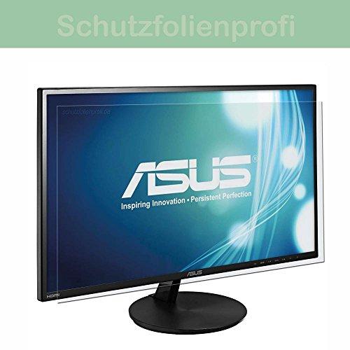 Acer K272HLE - 1x Maoni kristallklare Anti-Shock Displayschutzfolie - Crystal Clear Schutz Folie - Displayfolie