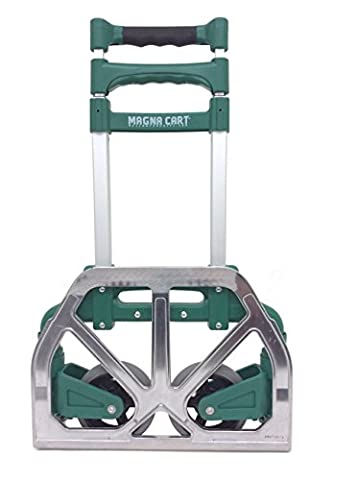 Magna Cart Personal 150 lb Capacity Aluminum Folding Hand Truck (Green)