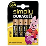 Brand New. Duracell MN1500 Simply Battery AA Ref 81235210 [Pack 4]