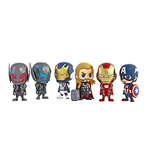 Hot Toys Avengers 2 Cosbaby Set Complet (Collector Series Abbildung)