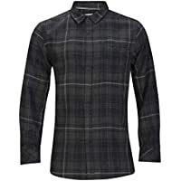 Hurley B Vedder Washed L/S Woven Camisa, Niños, Anthracite, XS