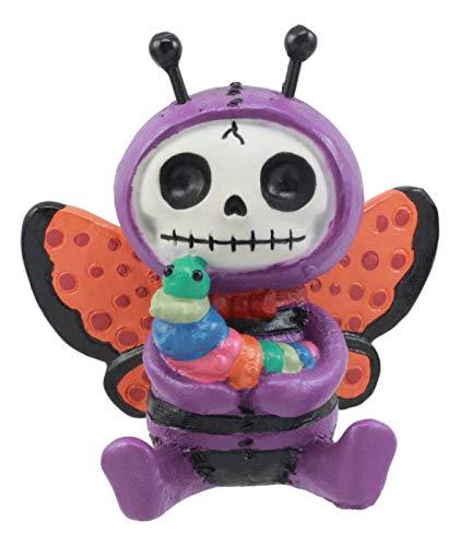 Furrybones Flutters Schmetterling Raupe Skelett Monster Ornament - Raupe Und Schmetterling Kostüm