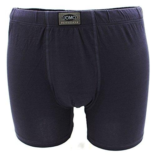 Ersatz 6. September Man Panties Boxershorts Unterwäsche elastischer Baumwolle grau blau schwarz Neu multicolore (2nero,2grigio,2blu)