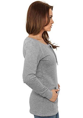 Urban Classics Damen Longsleeve Grey