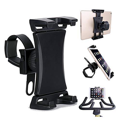 Universal-Halterung für Handy, Tablet und Smartphone, Halterung für Laufband/Heimtrainer, 360° drehbar, für 8,9-30,5 cm Smartphones und Tablets (Handy Halterung Für Laufband)