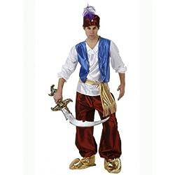 Atosa Disfraz de príncipe árabe para hombre, talla L (50-52) (8422259969099)